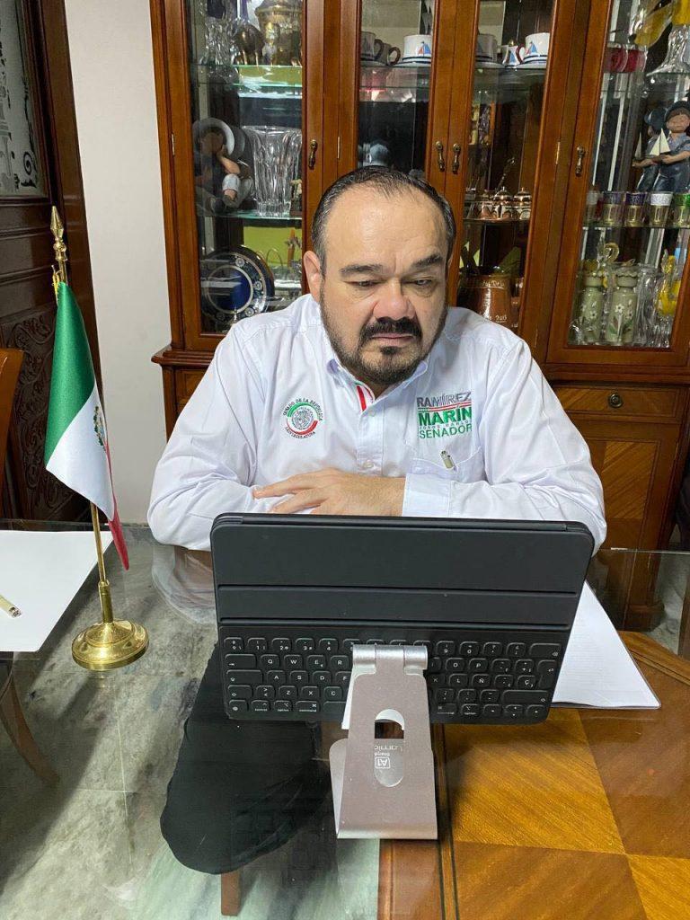 Carlos Ramírez Marín Foto: Fb Carlos Ramírez Marín