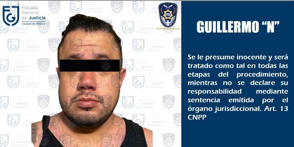 Fiscalía CDMX detuvo a Guillermo Álvarez, quien atropelló a una mujer y huyó luego del un incidente de tránsito