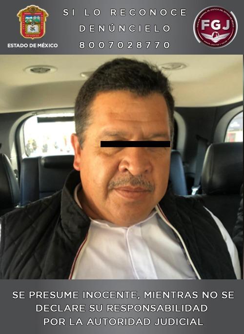 Juez vinculó a proceso a Gerardo Nava Sánchez, alcalde de Zinacantepec, por el delito de homicidio calificado en grado de tentativa