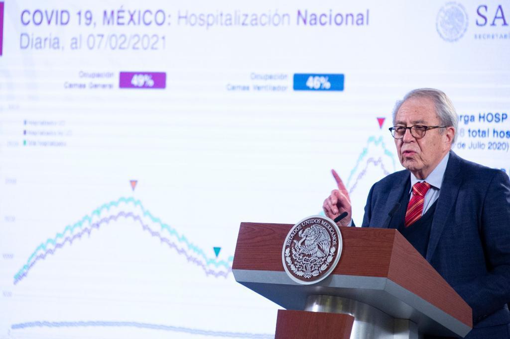 A la baja hospitalizados: Secretaría de Salud