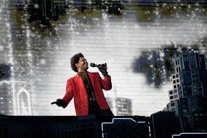 The Weeknd ofreció un show digno de la era de la pandemia