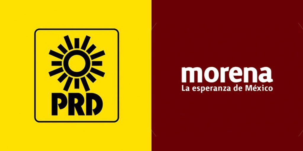 PRD- Morena Foto: Internet