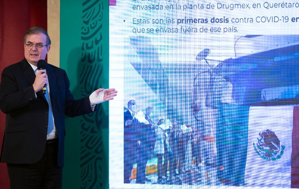 Marcelo Ebrard agenda delegación en EUA