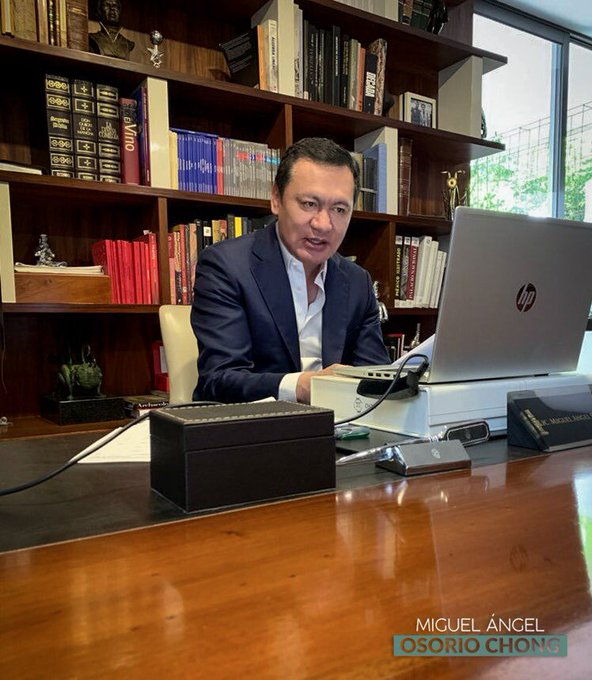 Miguel Osorio Chong Foto: @osoriochong