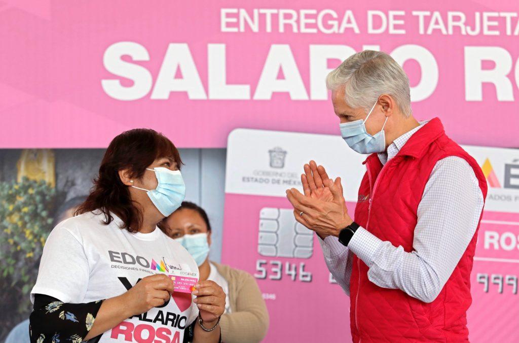 Salario rosa está en las mejores manos con las amas de casa: Alfredo Del Mazo