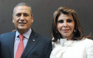 Falleció Sylvia Sánchez, esposa de Manlio Fabio Beltrones