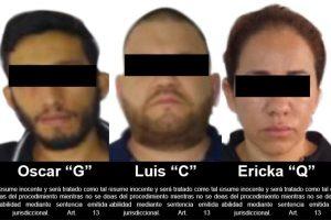 "Juez vinculó a proceso a 3 presuntos integrantes de el ""Cartel de Sinaloa"""