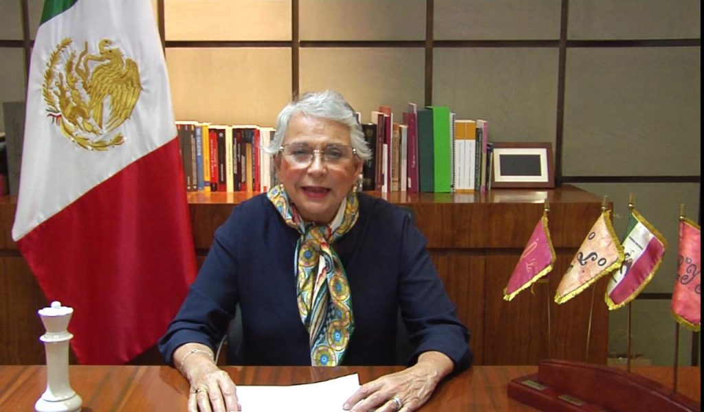 Falta mucho camino por recorrer para eliminar la discriminación contra las mujeres en la vida política: Sánchez Cordero