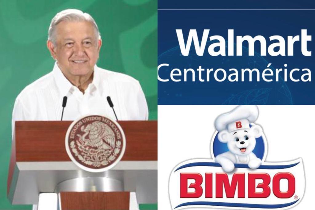 Descaro, amparos de Bimbo y Walmart: AMLO