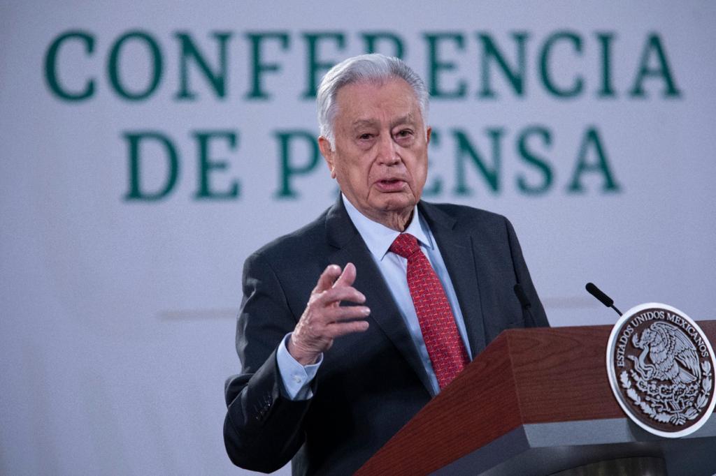 Manuel Bartlett Díaz Foto: Presidencia