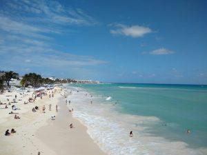 SEMAR mantiene acciones para contener sargazo en Quintana Roo, previo al inicio de la Semana Santa 2021