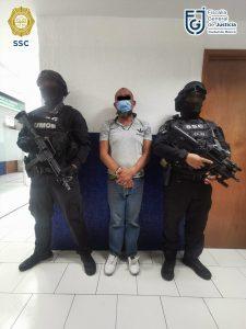SSC y Fiscalía CDMX detuvieron a 4 y aseguraron más de 500 dosis de narcóticos