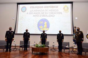 """Semar realizó Coloquio Histórico: """"La Armada de México a 200 años de su creación, mito o realidad"""""""