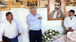 Primera gira de AMLO en veda electoral