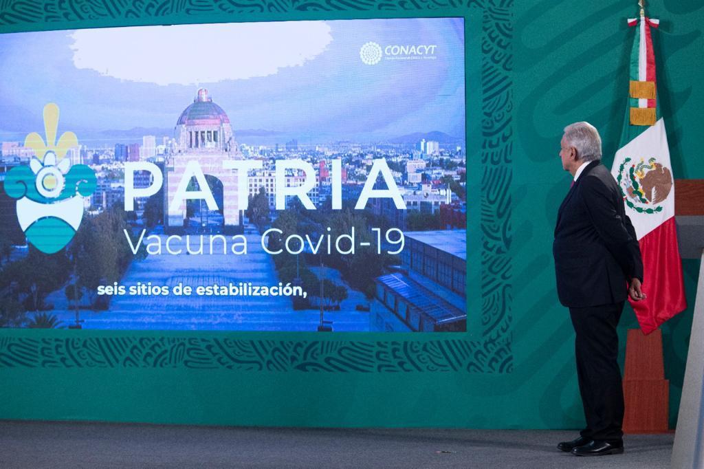 vacuna Foto: Presidencia