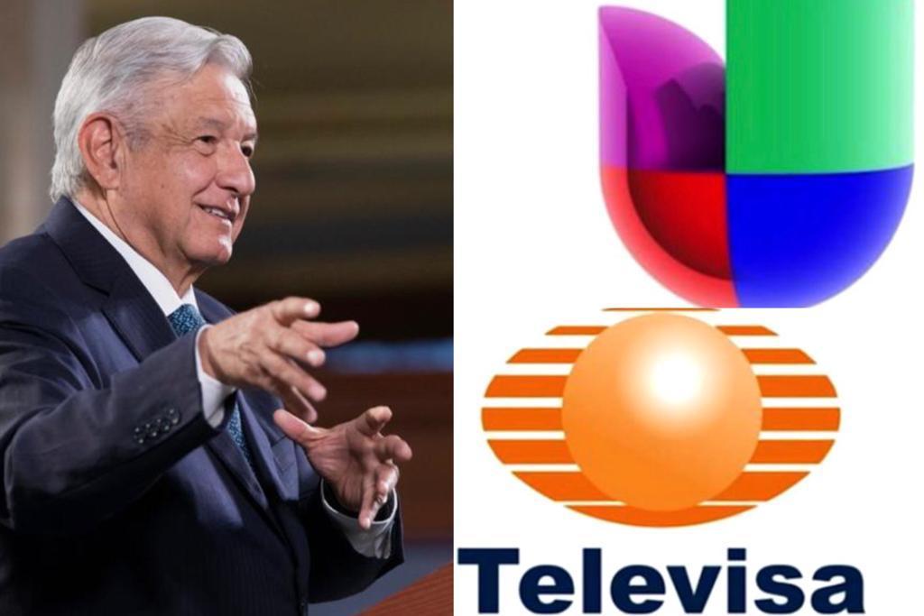 AMLO destaca fusión de Televisa y Univisión