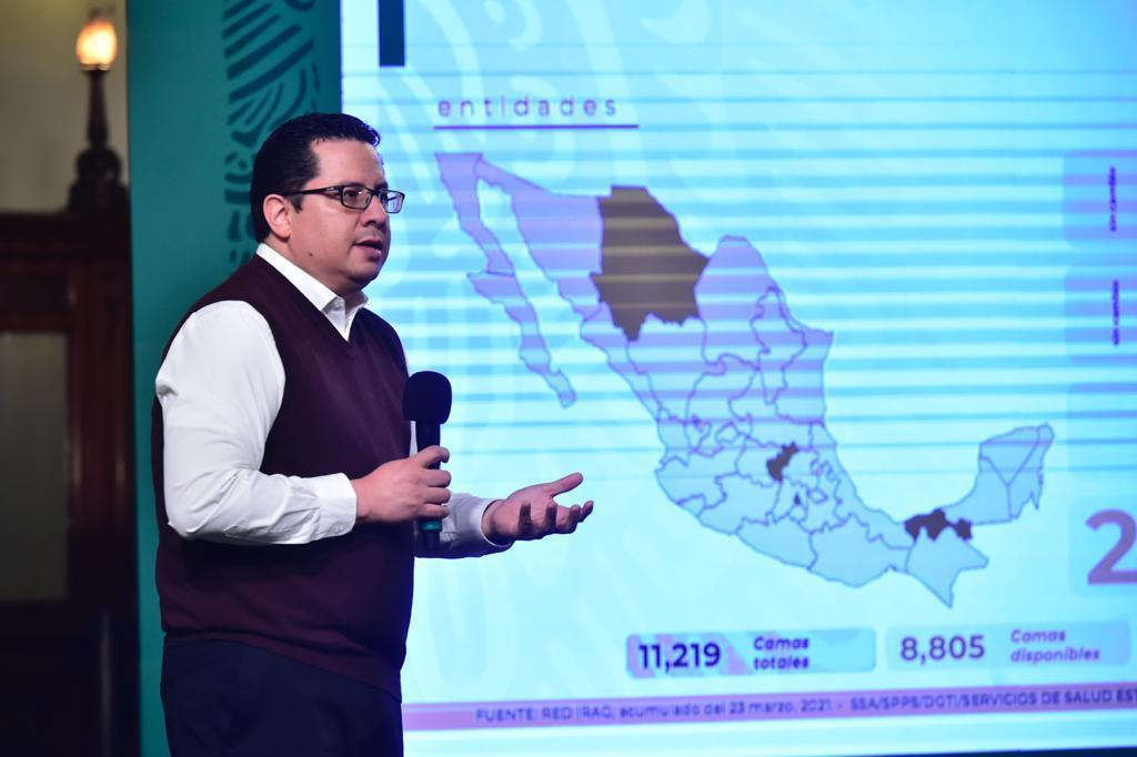 Se superan en el país las 206 mil defunciones por coronavirus