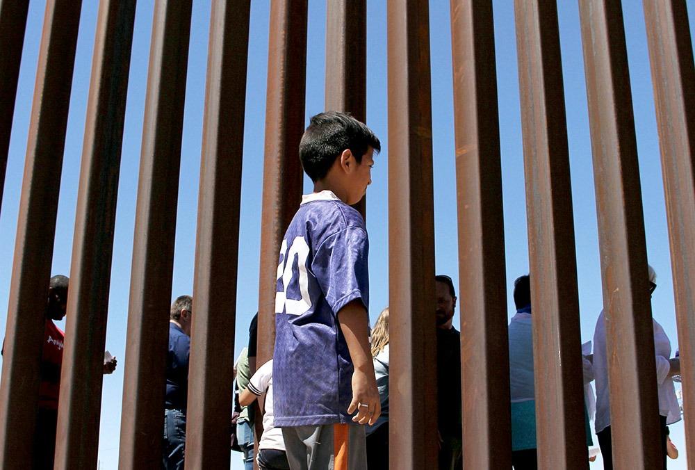 niños migrantes Foto: Internet