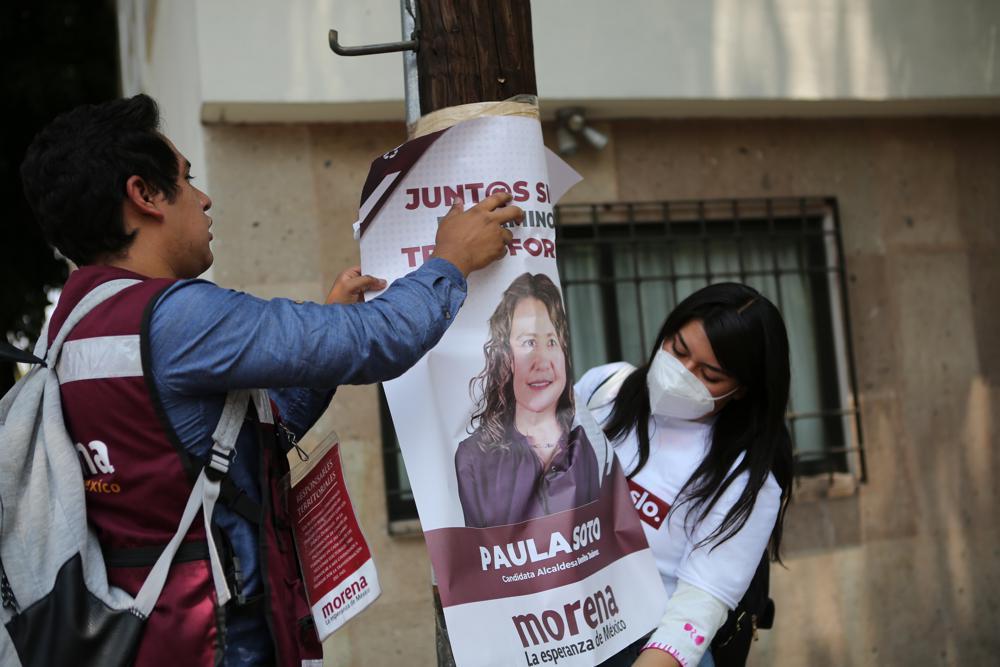¿Qué se juega López Obrador en comicios de junio? Foto: AP