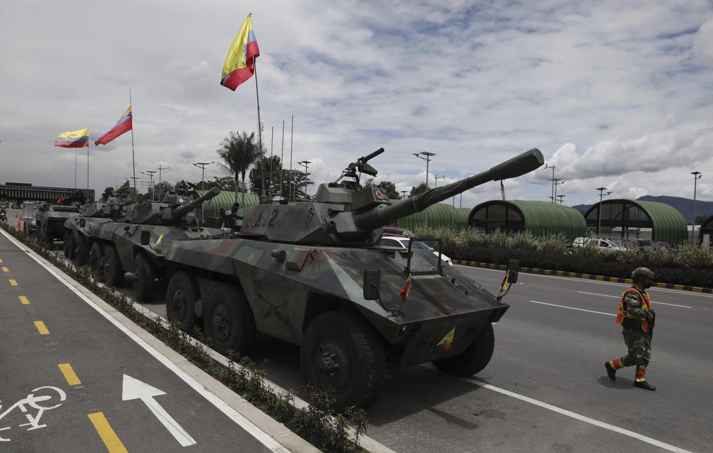 Colombia: se eleva a 24 cifra de muertos en manifestaciones Foto: AP