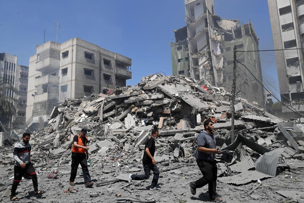 Nuevos ataques de Israel a Gaza; no hay indicios de tregua Foto: AP