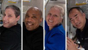 Nave de SpaceX regresó a la Tierra con 4 astronautas