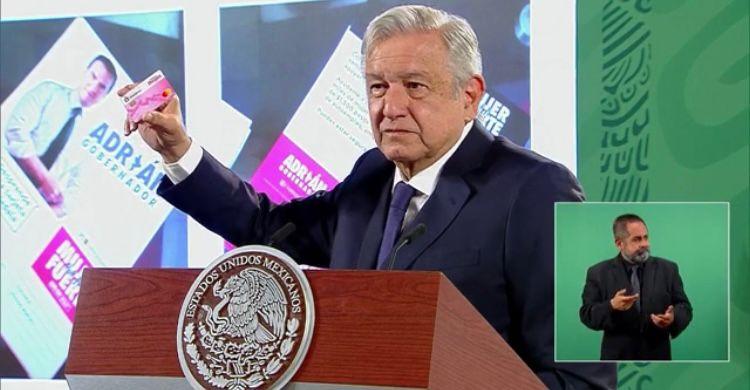 AMLO arremete contra INE por Nuevo León y San Luis Potosí
