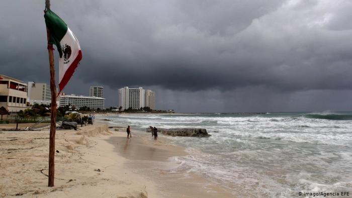 huracán Foto: DW