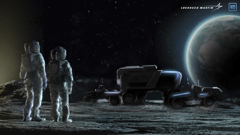 Nuevo vehículo de General Motors: un todoterreno autónomo lunar
