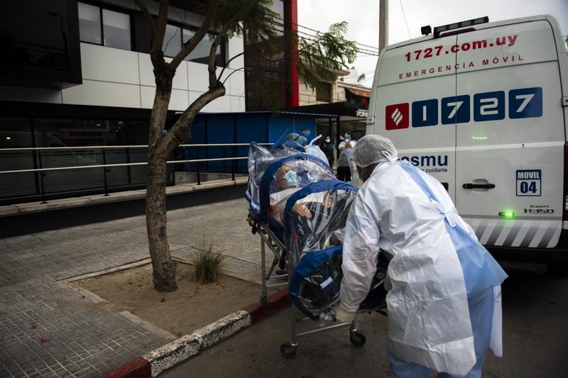 Desborde de fallecidos por COVID-19 no da tregua en Uruguay