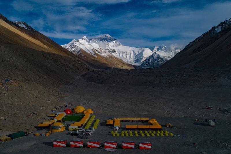 """China dibujará """"línea de separación"""" en la cima del Everest"""