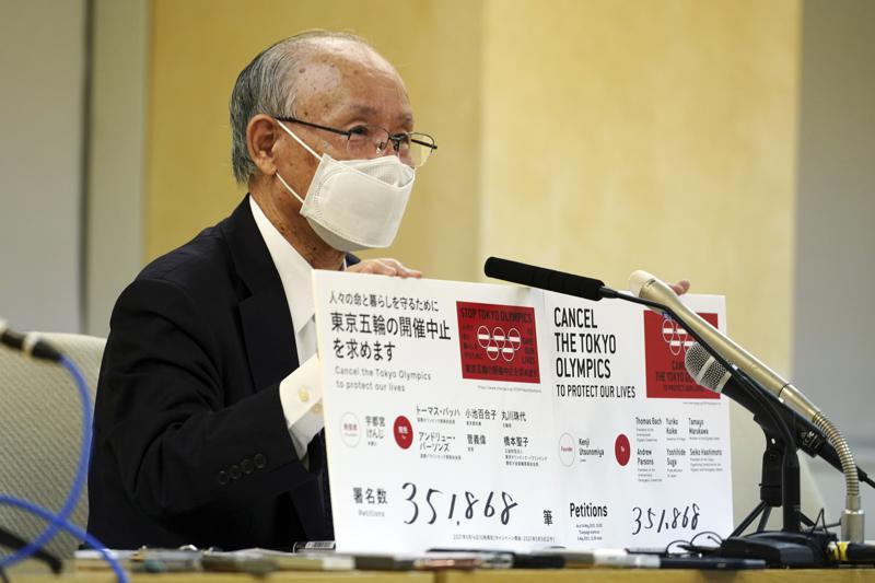 Petición con 350.000 firmas pide la cancelación de los Juegos de Tokio Foto: AP