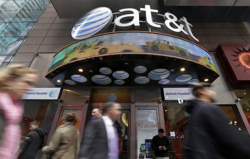 AT&T combinará operaciones de medios masivos con Discovery Foto: AP