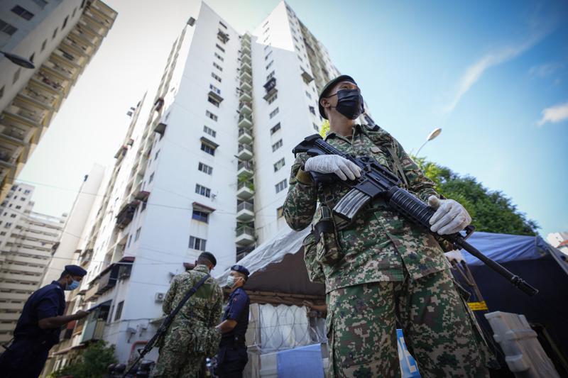 Malasia declara confinamiento casi total por pandemia Foto: AP