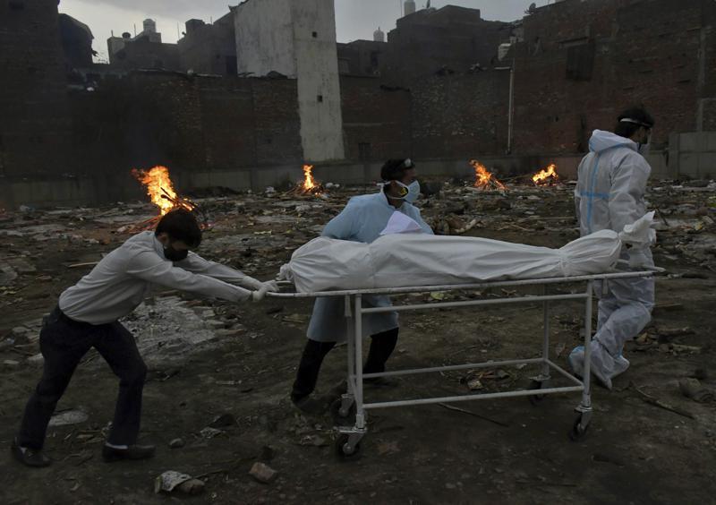 India bate nuevo récord por casos de covid Foto: AP