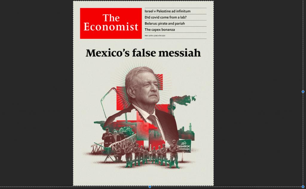 """The Economist llama """"Falso mesías"""" a López Obrador"""