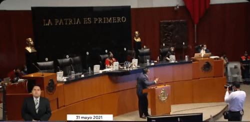 Legisladores guardan un minuto de silencio y luego se atacan Foto: @Mx_Diputados
