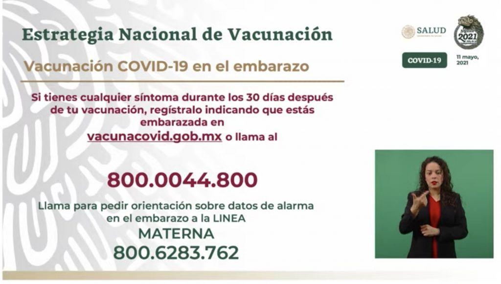 Gobierno anuncia vacunación anti covid a mujeres embarazadas