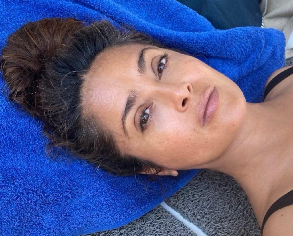 Casi me cuesta la vida: Salma Hayek, tras ser contagiada Covid-19