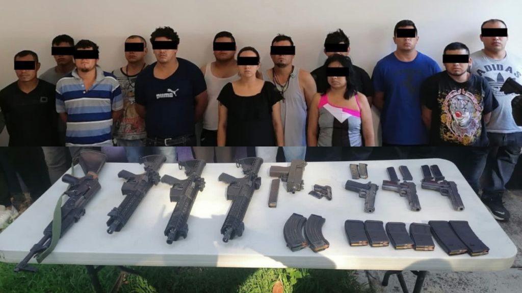 Fuerza Civil y Policía Estatal de Veracruz, dan duro golpe a la delincuencia en Córdoba