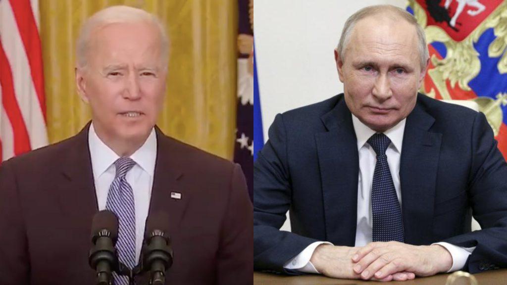 Biden y Putin se reunirán en Ginebra en medio de tensiones