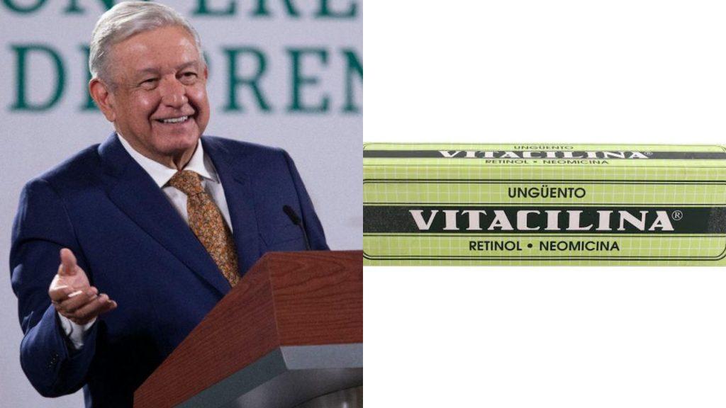 AMLO receta Vitacilina a detractores