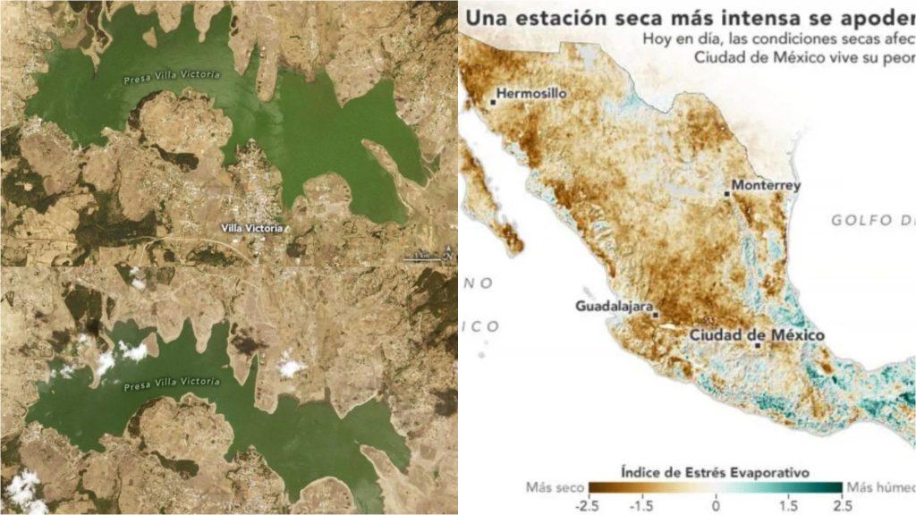 México se encuentra en la peor sequía en décadas: NASA
