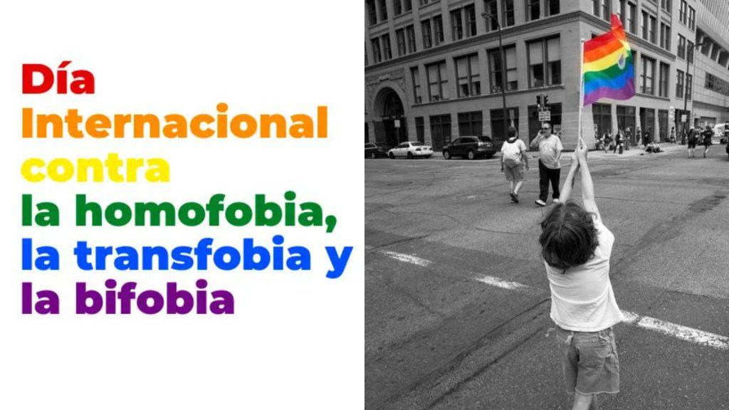 17 de mayo; Día Internacional contra la Homofobia, Transfobia y Bifobia