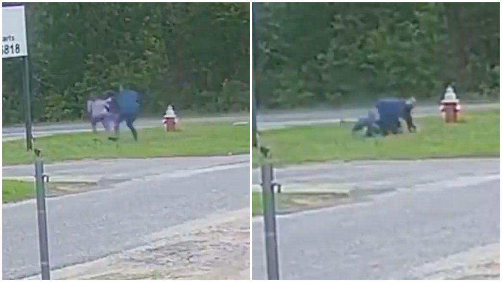 Menor de 11 años forcejeó contra sujeto que quería raptarla, logró escapar (Video)