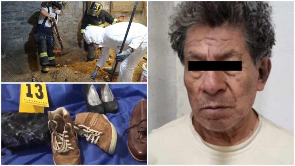 Detienen a asesino serial en México con más de 10 cuerpos enterrados en su casa