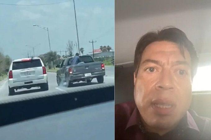 Nos acaban de detener, apuntándonos con armas largas: Mario Delgado; culpa a Cabeza de Vaca (Video)