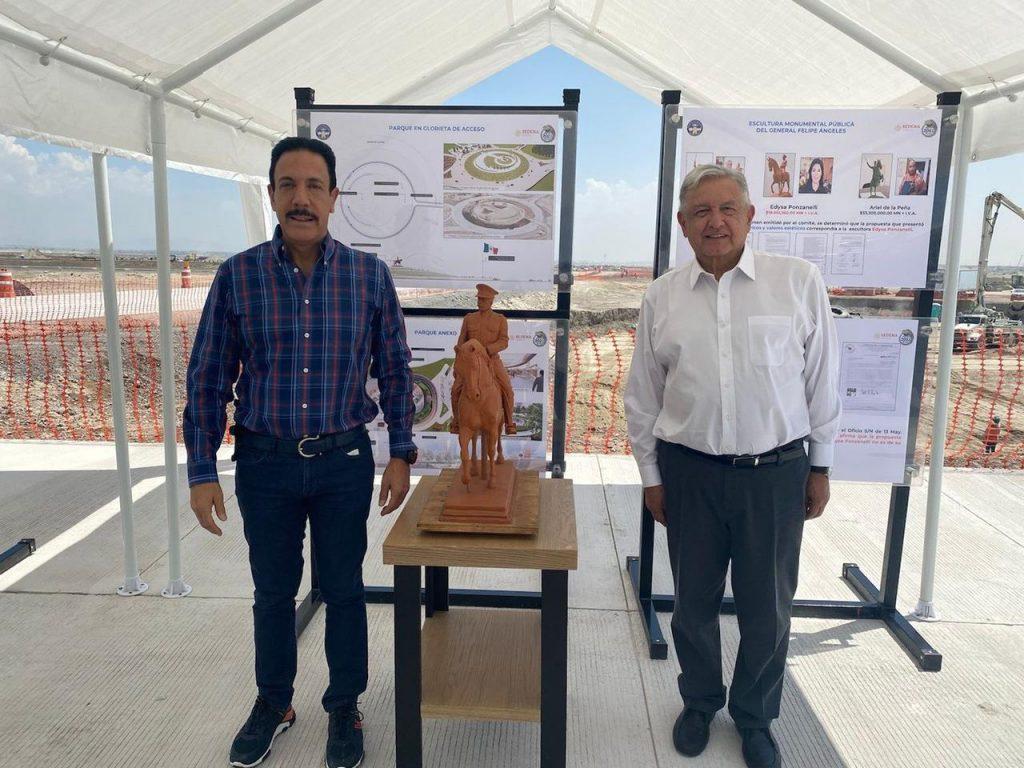 Estatua Foto: Presidencia