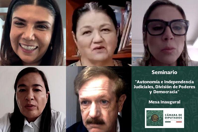Defienden juristas y legisladores autonomía del Poder Judicial; no puede estar bajo amenazas del Ejecutivo Foto: Internet