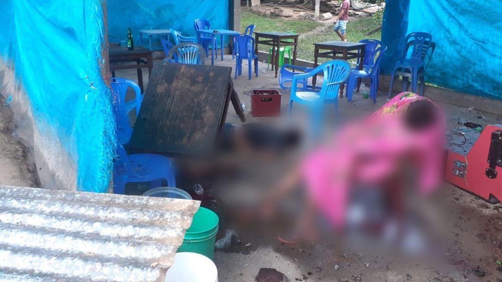 Trasladan a morgue 16 cadáveres de matanza en bares de Perú